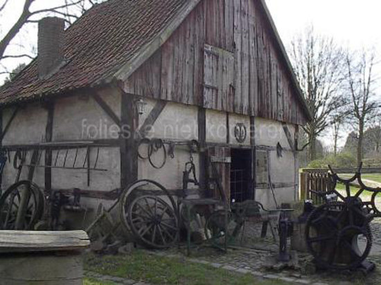Münster, Duitsland: at the blacksmiths