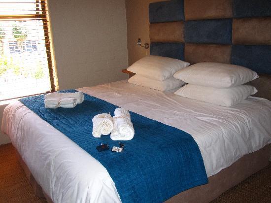 Gap Lodge: Das Zimmer,- sehr sauber und zwecksmäßig