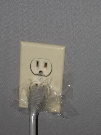 Days Inn Cranbrook: Electrical plug