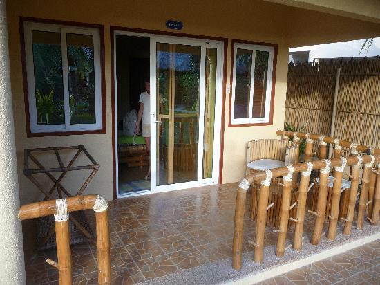 Thalatta Resort: Terrasse de la chambre