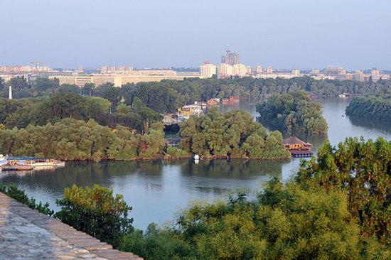Belgrade, Serbie : Kalemegdan view