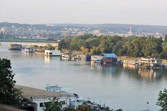 Belgrad, Serbien: Kalemegdan view