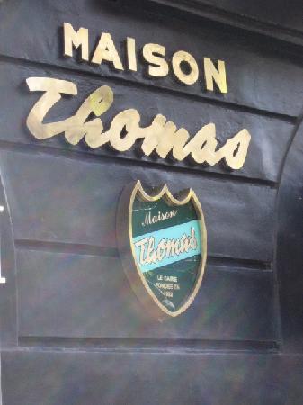 Maison Thomas : Front