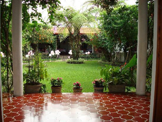 Hotel Casa Duranta: vista del Jardin