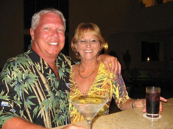 Secrets Silversands Riviera Cancun: Great Drinks - so happy