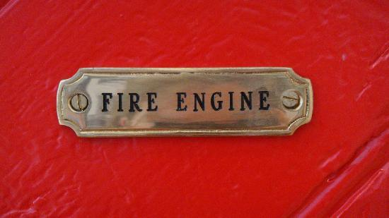 Fire Station Inn: Fire Engine Suite