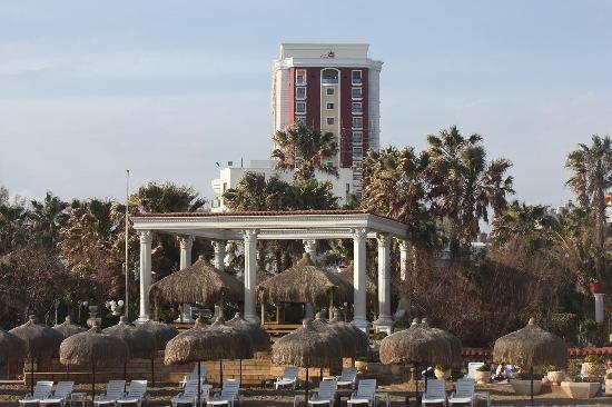 Club Hotel Sera : ... vom Strand