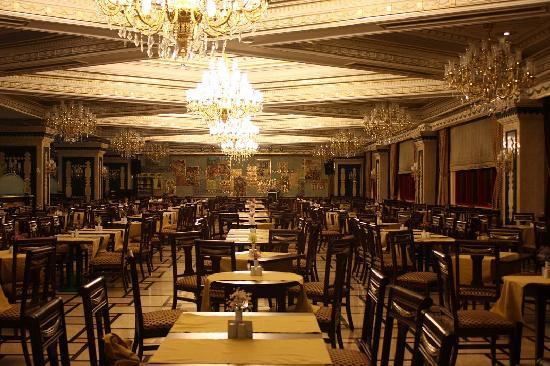 Club Hotel Sera: Sitzbereich im Restaurant (Hauptgeb.)