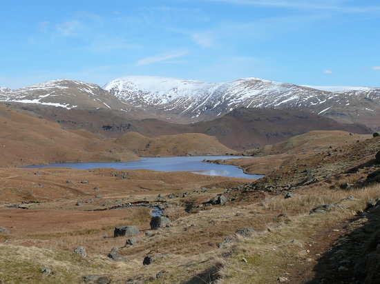 Grasmere, UK: Sunny!!March2010