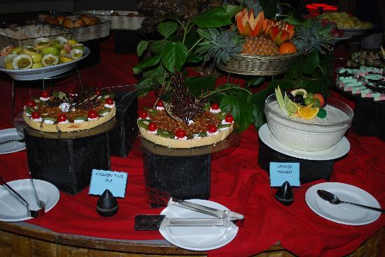 Gasfinolhu Island Resort: I dolci