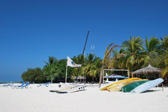 Gasfinolhu Island Resort : Spiaggia