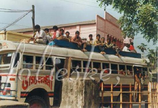 Krishnanagar, India: a busload full