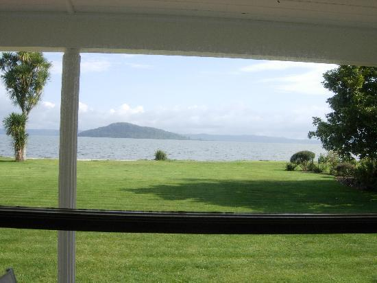 The Lake House Rotorua: View from room