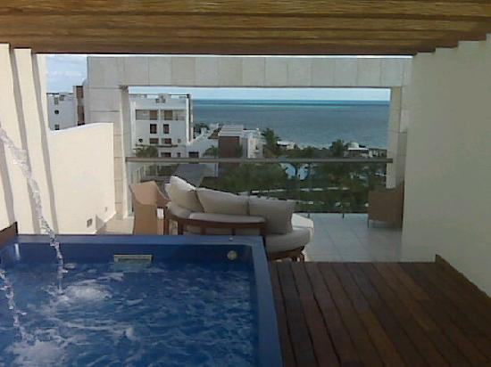 Excellence Playa Mujeres: View from EC RTT 7453