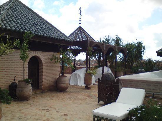La Sultana Marrakech: terrasse