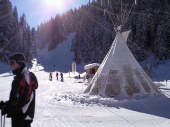 Courchevel, Frankrike: indians