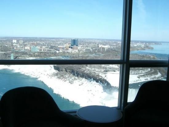 Toronto Canada Niagra Falls Our Room View From Embassy Suites Ice