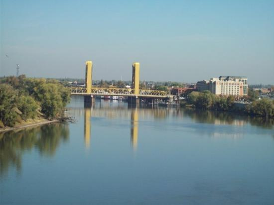 Another bridge over the American River, Sacramento...