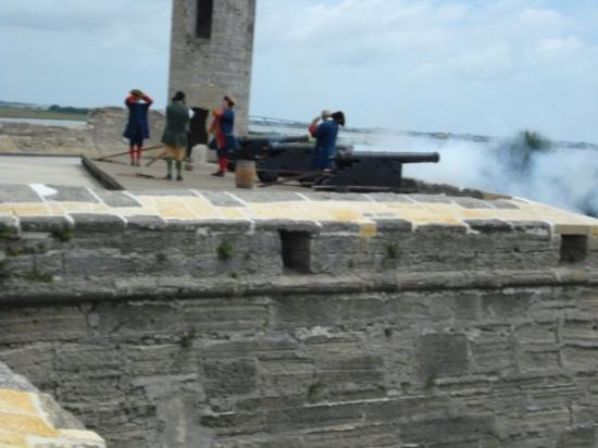 Bilde fra Castillo de San Marcos