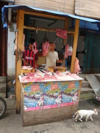 Butcher in Jakarta