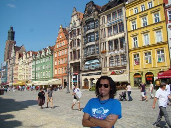 Wroclaw, Polen: Mi ultimo dia en Europa :( Sabado 15 de Agosto de 2009, Wrocław, Polska (Breslavia, Polonia)