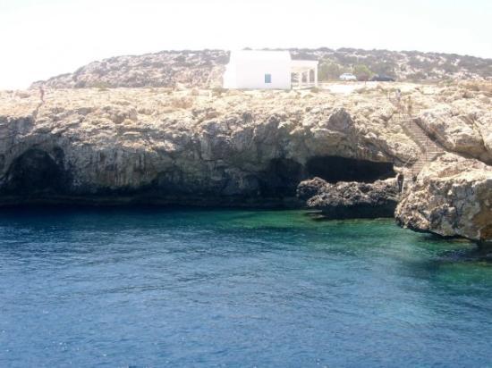 Protaras, Cyprus: cape greco
