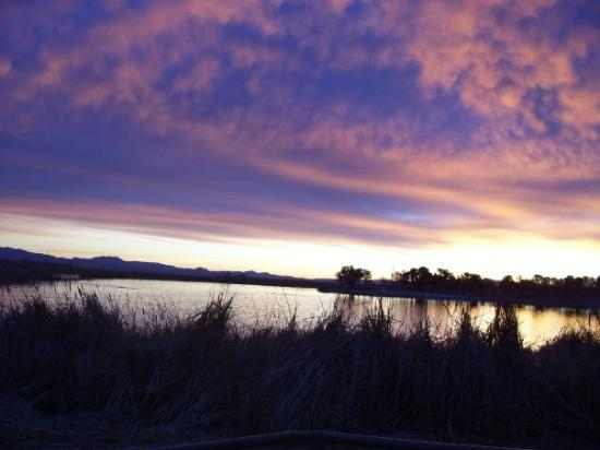 Phoenix, AZ: Sunrise on Rope Lake