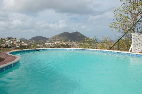 Marina Haven Villas: View from the private pool