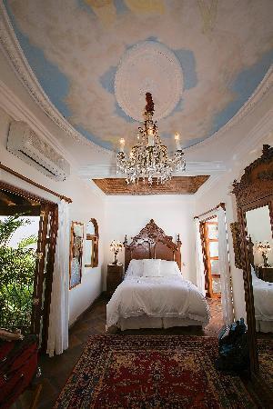 "Hacienda San Angel : Beautifully Appointed ""Angel's Dome"" Room."