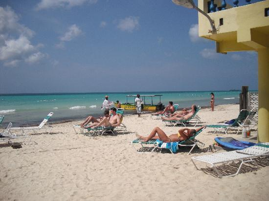 White Sands Negril: the beach