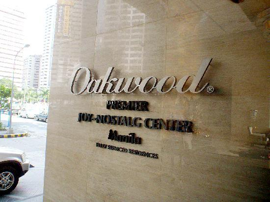 Oakwood Premier Joy - Nostalg Center Manila: oakwood premier joy nostalg