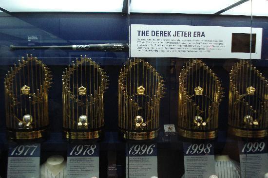 Yankee Stadium: World Series Trophies