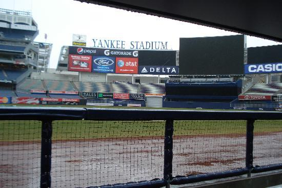 Yankee Stadium: View from Yankee Bullpen