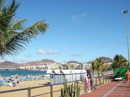 Hotel Maritim Playa: Strand von Cantaras, Las Palmas