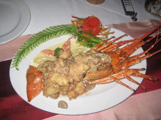 Boomerang Village Resort: Lobster