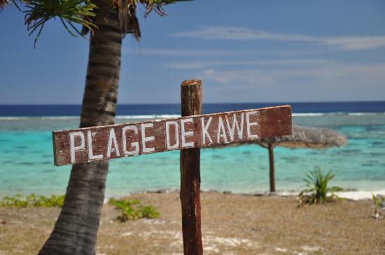 Mare, Ny-Caledonia: plage de Kawe