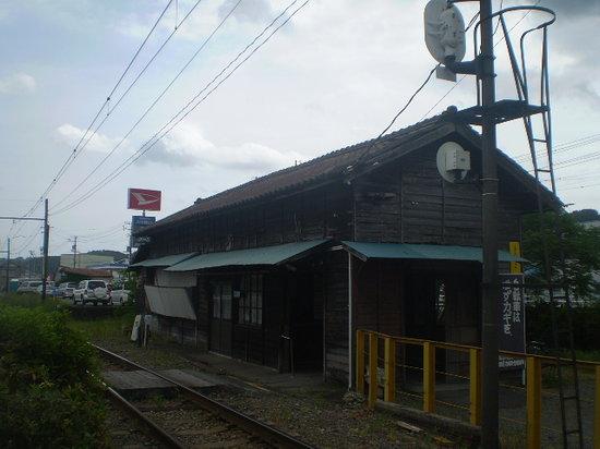 Sumatakyo Valley: 大井川鉄道途中駅の五和(ごか)駅舎