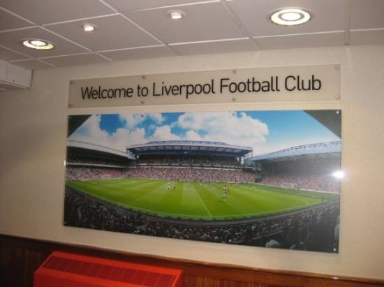 Bilde fra Anfield Stadium