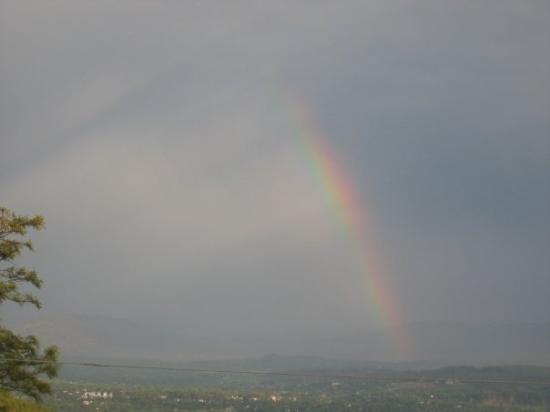Dharamsala, India: Dharmasala rainbow