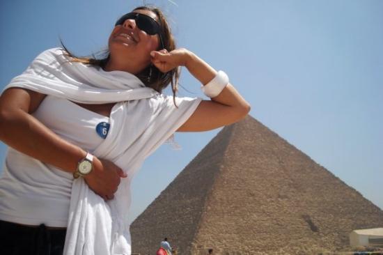 Bilde fra Pyramidene i Giza