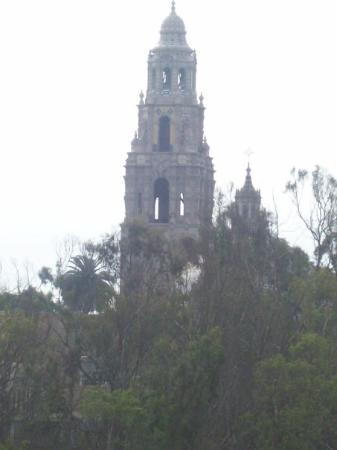 The California Building in Balboa Park just next to the zoo