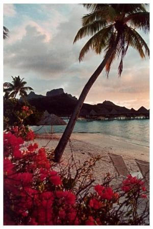 InterContinental Bora Bora Le Moana Resort: View from our bungalow, Bora Bora