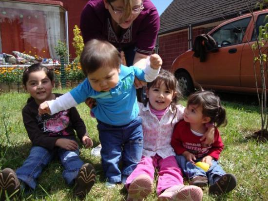 Osorno, Chile: The Ortega grand kids