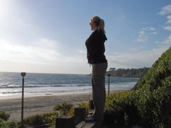 Dana Point, Californie : Me over looking Monarch Coast Beach, CA