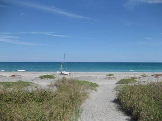 Jupiter, FL: Private beach...of course!