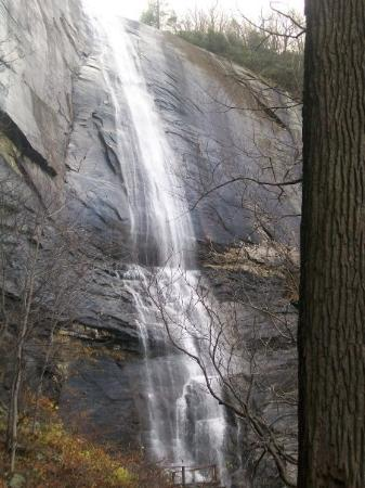 Chimney Rock, Carolina del Norte: Hickory Nut Falls