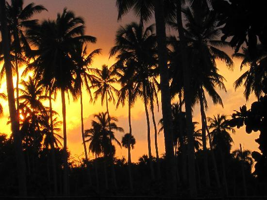 Ocean Blue & Sand: Sunset