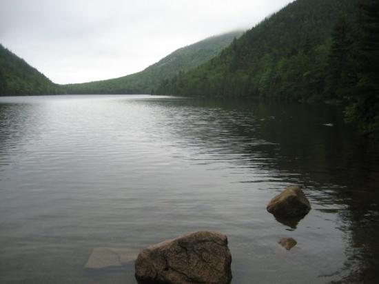 Bar Harbor, ME: Bubble Pond (Between Cadillac and Pemetic Mntns)