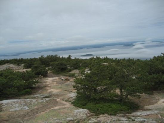 Bar Harbor, ME: View from Dorr's summit