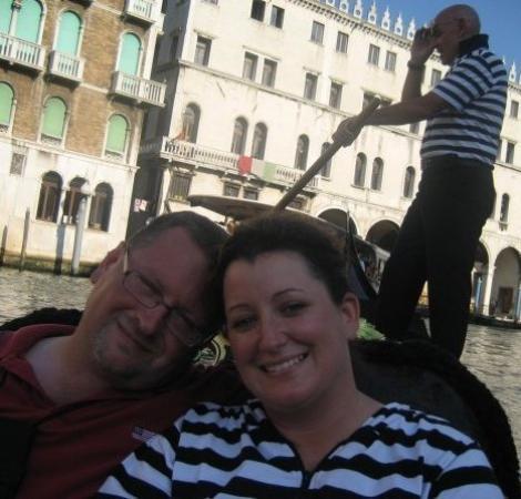 Canal Grande: Gondola ride in Venice!!